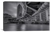 Bridge With A Twist, Canvas Print