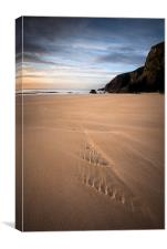 Tolsta beach, Isle of Lewis, Canvas Print