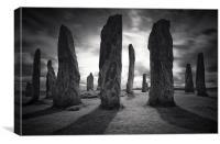 Callanish Stones, Isle of Lewis, Canvas Print