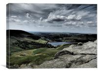 Dovestone Reservoir 2, Canvas Print