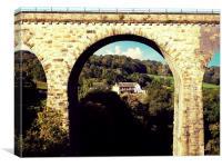 marple viaduct, Canvas Print