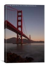 Golden Gate Sunrise, Canvas Print