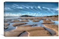 The Beach, Canvas Print