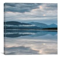 Mirrored Loch, Canvas Print