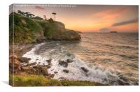 Coastal Dawn, Canvas Print