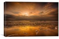 Heavenly Dawn, Canvas Print