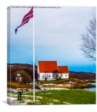 A Little Piece of Norway, Canvas Print