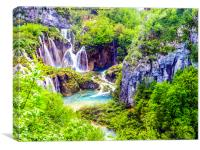 The Outstanding Plitvice Lakes, Canvas Print