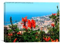 The Island of Flowers Madeira, Canvas Print