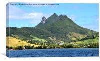 MAURITIUS ISLAND PARADISE, Canvas Print