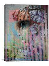 The Observer, Canvas Print
