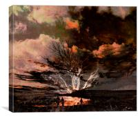 Tree Romance, Canvas Print