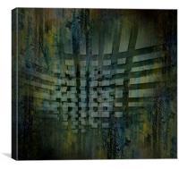 Tiles Displacement, Canvas Print