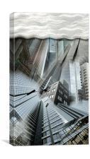 Skyscraper, Canvas Print