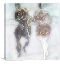 Fog on the Promenade, Canvas Print
