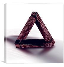 Triangle, Canvas Print