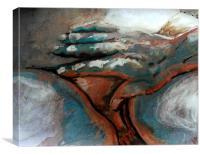 Berührung , Canvas Print