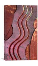 Sine of Transience, Canvas Print
