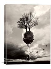 Glass Of Tree, Canvas Print