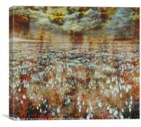 Spring Day Rusted , Canvas Print