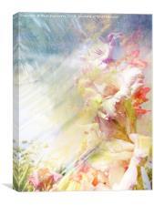 Summer Now Textured, Canvas Print