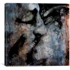 Texture Kiss 2015, Canvas Print
