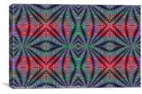 Color Shaped, Canvas Print