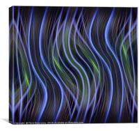 Vertical Highlight, Canvas Print