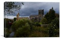 Paisley Abbey , Canvas Print