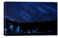 Merrivale Startrail, Canvas Print