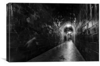 Tunnel, Canvas Print