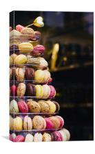 Macarons, Canvas Print