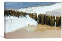 Breakwater, Canvas Print
