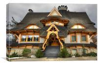 Polish Mountain House, Canvas Print