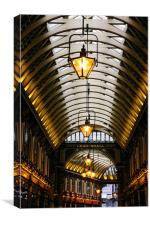 Leadenhall Market Roof, Canvas Print