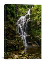 Wodospad Kamienczyka, Canvas Print