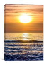 Vertical Sunset, Canvas Print