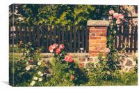 Idyllic Garden, Canvas Print