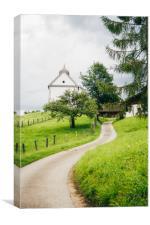 Wamberg Village, Canvas Print