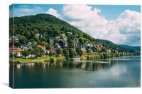 Heidelberg Germany Landscape, Canvas Print