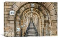 Inside The Viaduct de Chaumont France, Canvas Print