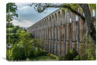 The Viaduct of Chaumont, Canvas Print