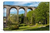 Amazing Viaduct, Canvas Print