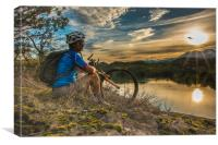 Let your bike take you places, Canvas Print