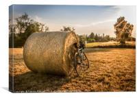 Biking adventure, Canvas Print