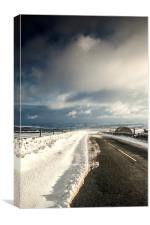 A Yorkshire winter, Canvas Print