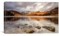 Blea Tarn,lake district,mid afternoon, Canvas Print