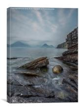 Elgol,in, Scotland,Isle of Skye,, Canvas Print