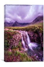 Fairy Pools Waterfall, Canvas Print