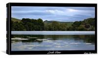 Loch View, Canvas Print